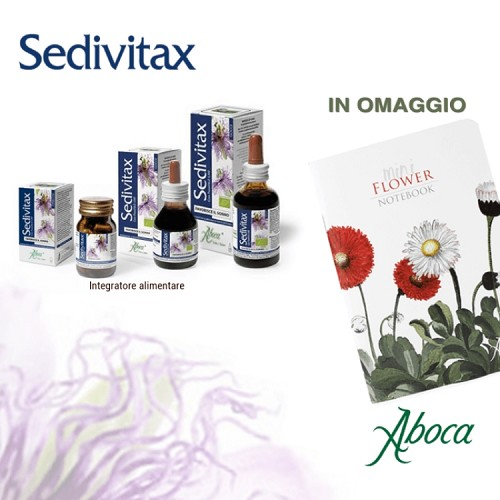 immagine Con Sedivitax in omaggio un mini block notes